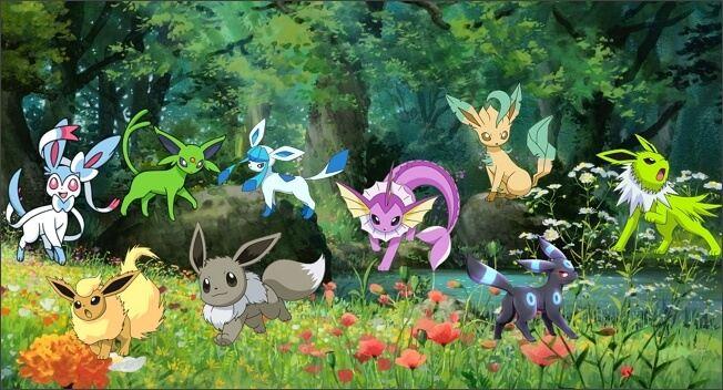 todos los eevee Shiny en pokemon go