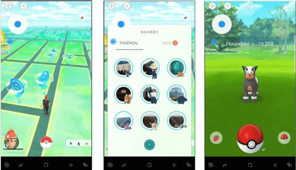 simular la ubicación en Pokemón Go