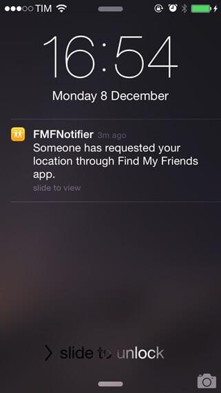 cómo cambiar otra ubicación en Buscar a mis amigos