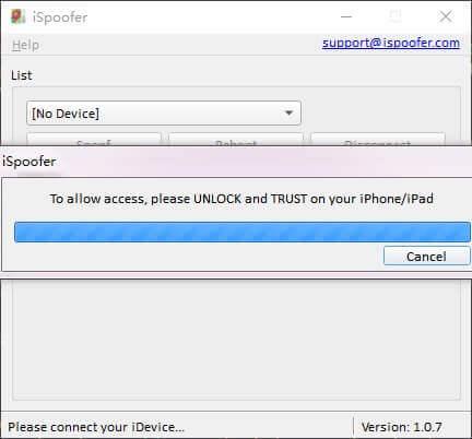 desbloquee dispositivo para confiar en computadora