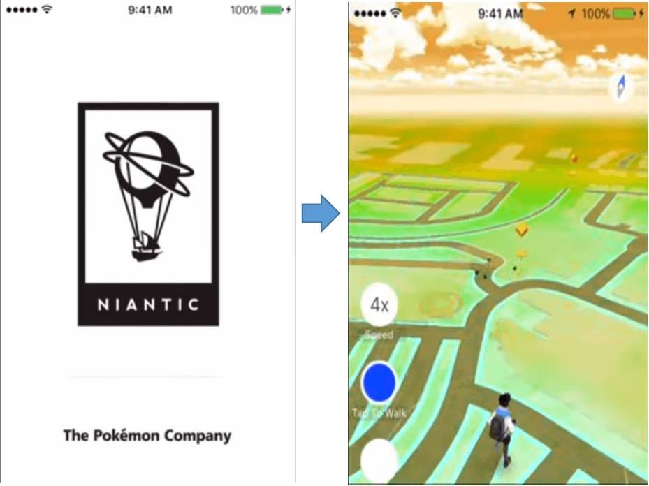 comprueba la ubicación de Pokémon GO