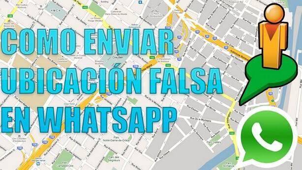como enviar ubicación en tiempo real falsa por WhatsApp Android