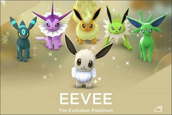 Cómo evolucionar un Eevee en Pokémon Go
