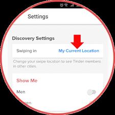 como cambiar la ubicación en tinder con Tinder Passport