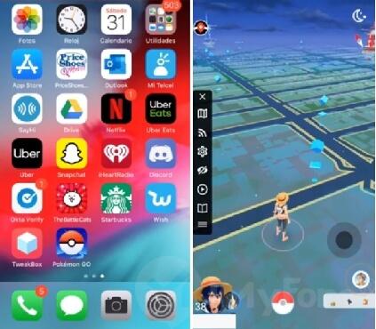 disfruta de Pokémon Go con el joystick GPS