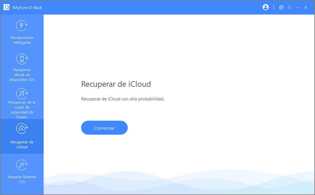 recuperar de iCloud