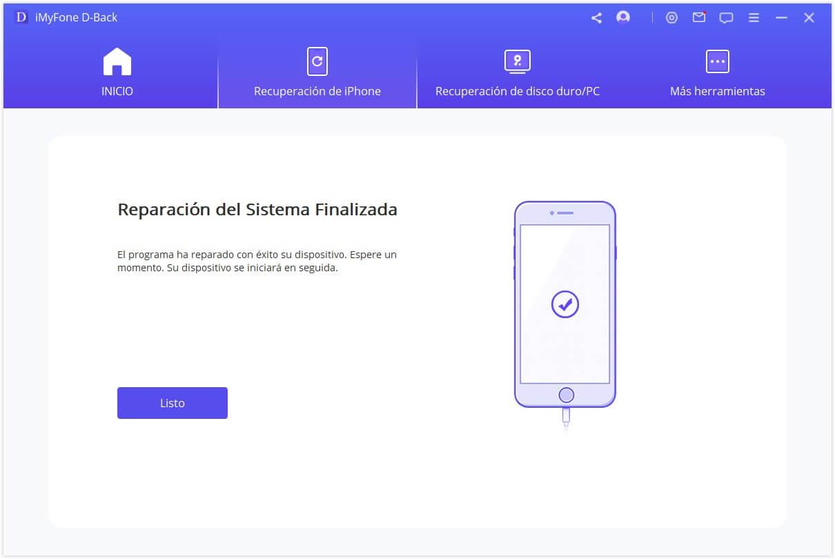 Terminar de arreglar el sistema iOS