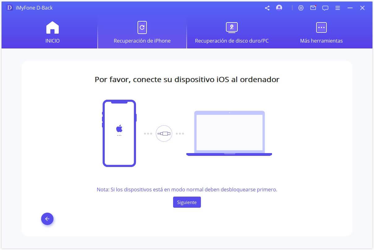 conectar iPhone al ordenador
