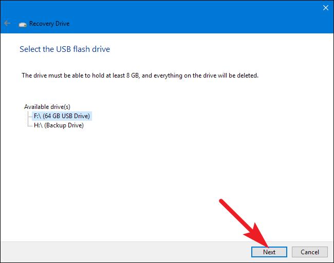 Conectar USB al PC