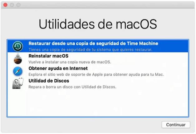 Recuperar papelera a través de la Terminal mac