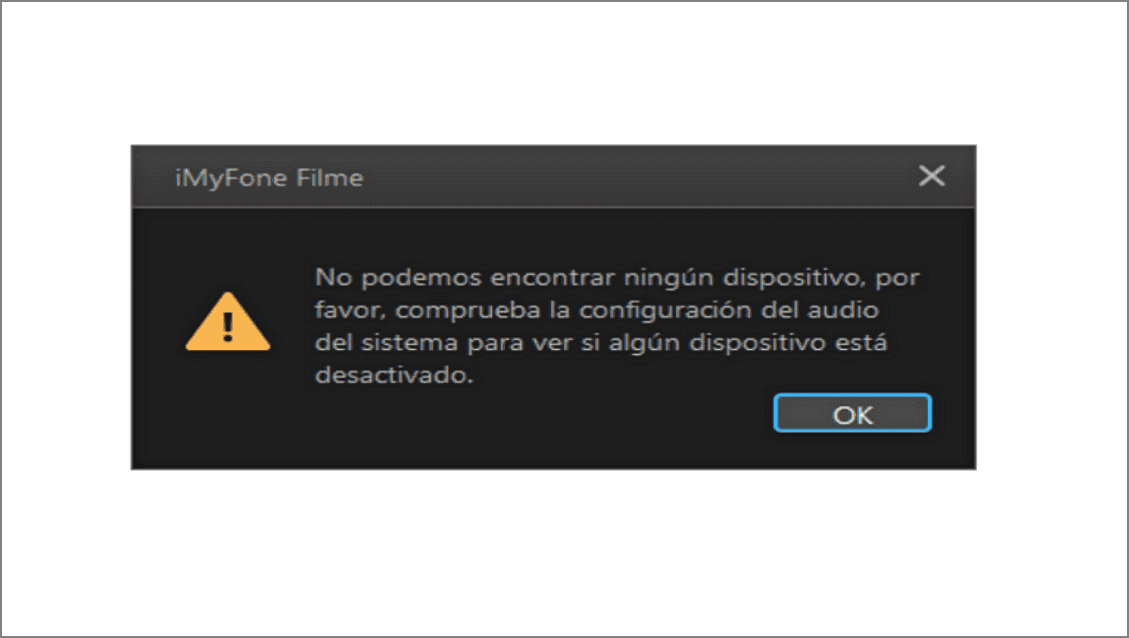 iMyfone Filme desactivado
