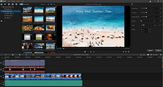 imyfone filme para editar videos gratis