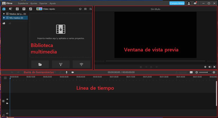 importar video a imyfone filme