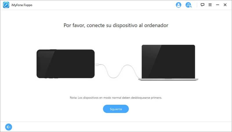 conecta tu dispositivo al ordenador