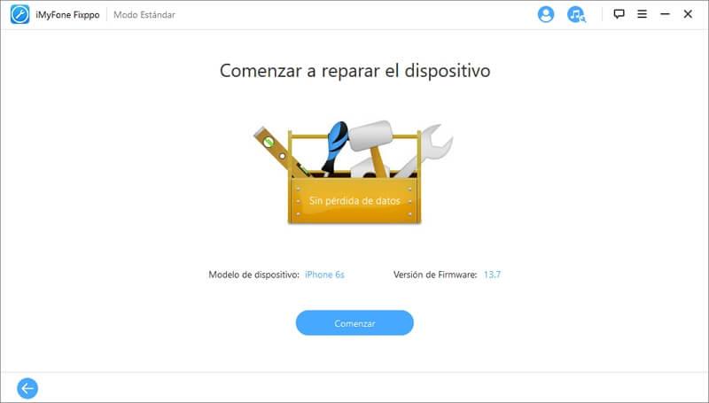 completar la reparacion del iPhone muerto de repente
