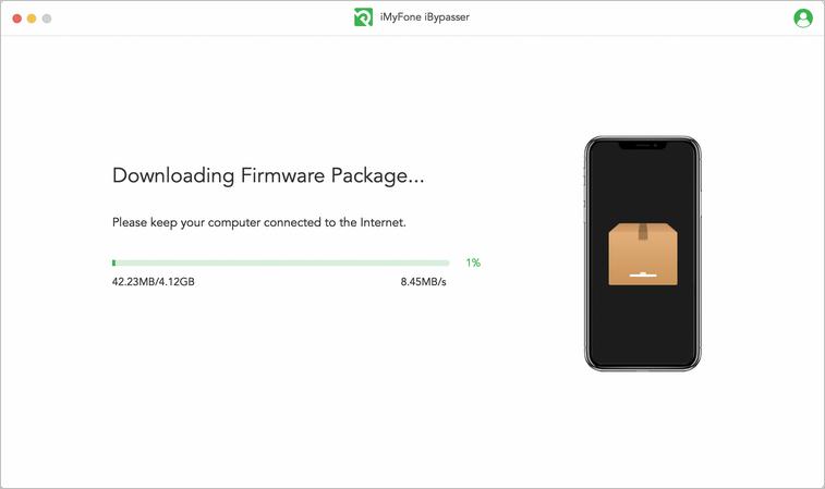 descargar el paquete de firmware