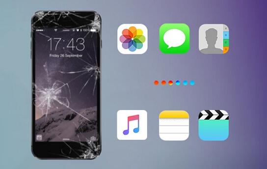 Recuperar fotos iPhone roto