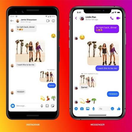 Recuperar los mensajes eliminados de Instagram a través de la cuenta de Facebook