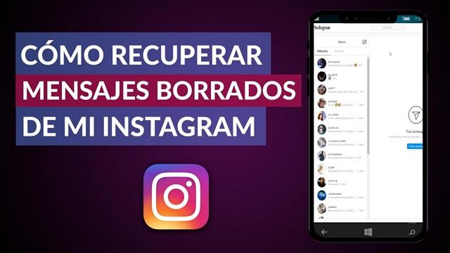cómo recuperar mensajes eliminados de instagram iphone