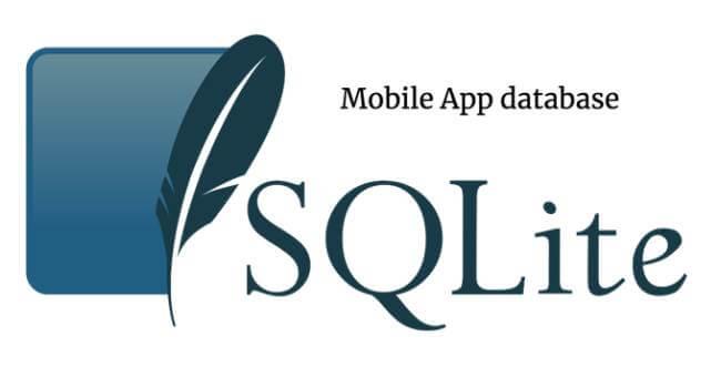 base de datos SQLite para guardar sus datos