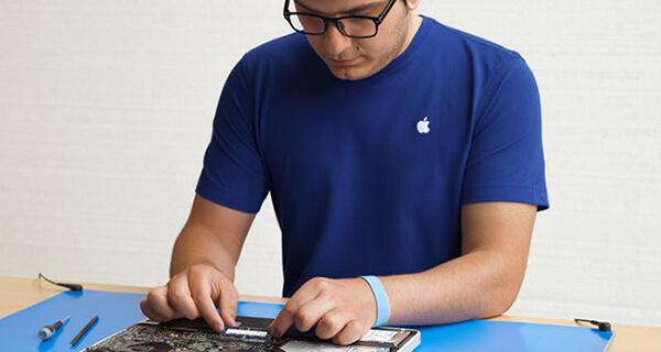 Poner en contacto con el soporte técnico de Apple
