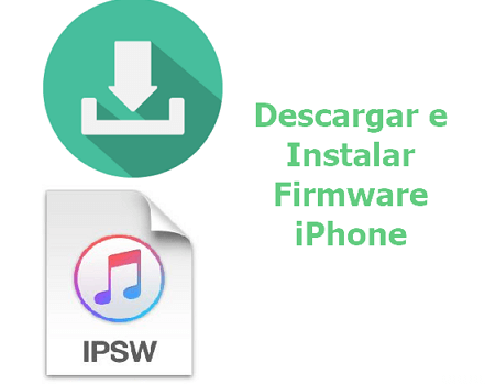 como descargar firmware del iPhone