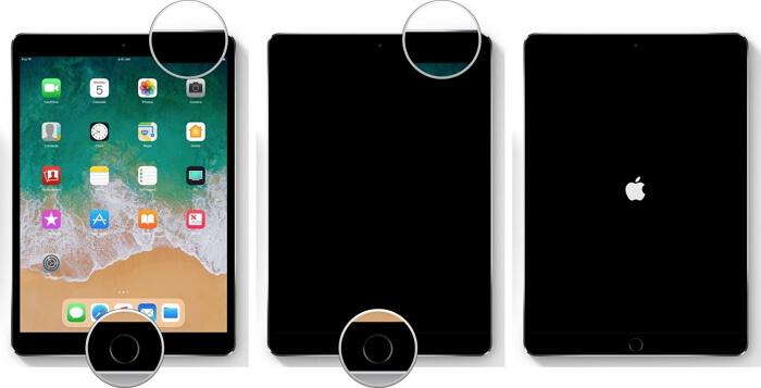 forzar reinicio iPad Pro