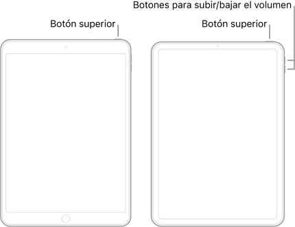 reinicio forzado del iPad