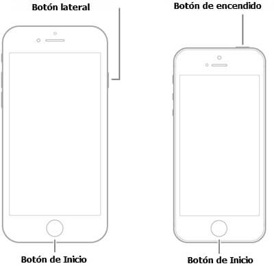 reinicia el iPhone