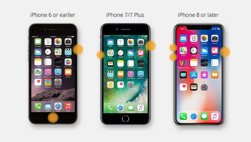 reiniciar iphone para arreglar el iphone cuando se queda en la manzana