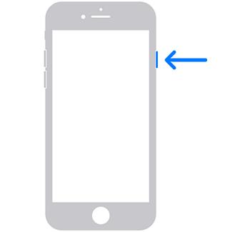 reinicia el iPhone 8, 7 o 6 muerto