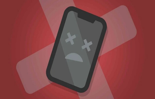 iPhone completamente muerto