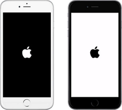 mi iphone se queda en la manzana
