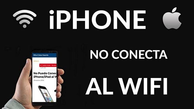 mi iPhone no se conecta a Wifi