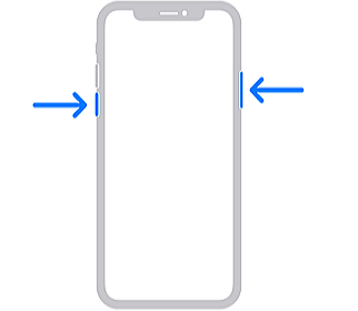 reinicia el iPhone X, 11 o 12 muerto