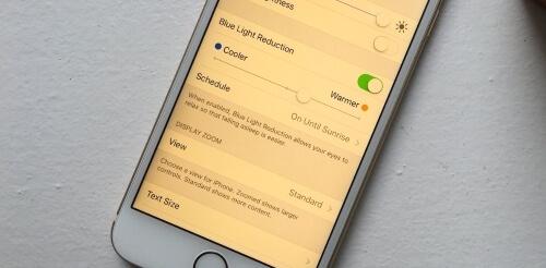 pantalla amarilla en iPhone