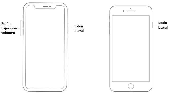 forzar reinicio iPhone