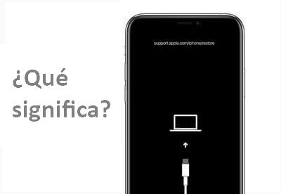 Qué significa support.apple.com/iPhone/restoren