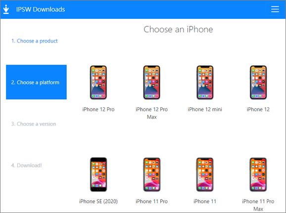 elige el modelo de iPhone