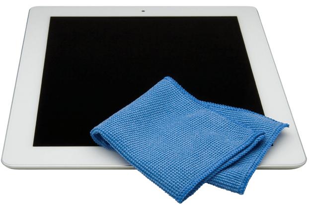 Limpiar la pantalla de tu iPad
