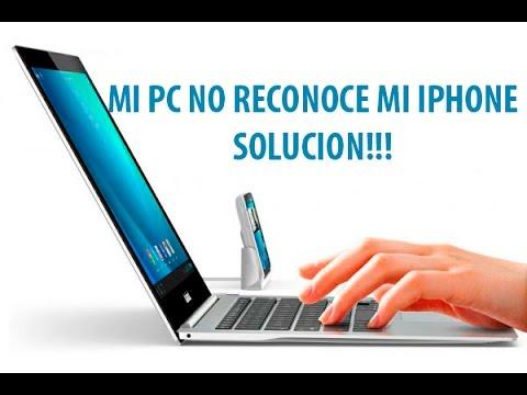 solucionar mi PC no reconoce mi iPhone