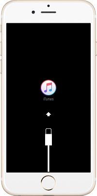 El iPhone se ha quedado atascado en la conexión con iTunes