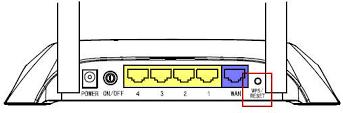 reiniciar router de wi-fi