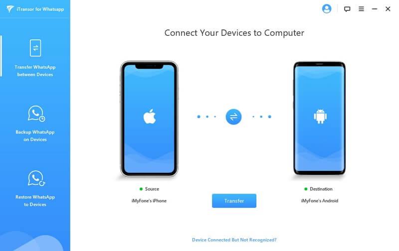 Restaurar directamente de Android a iPhone