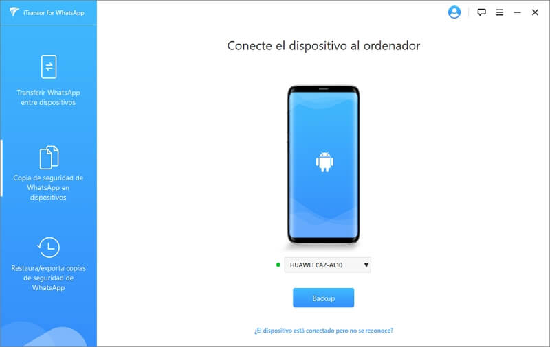 conecta tu dispositivo