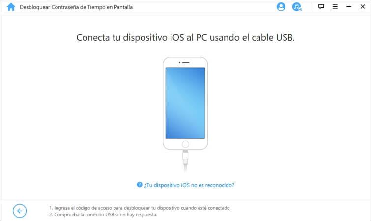 conectar dispositivo iOS al ordenador
