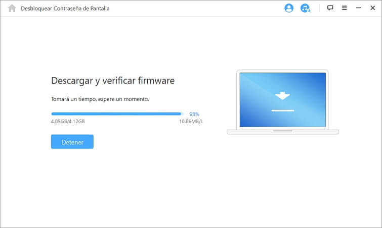 verificar la descarga de firmware