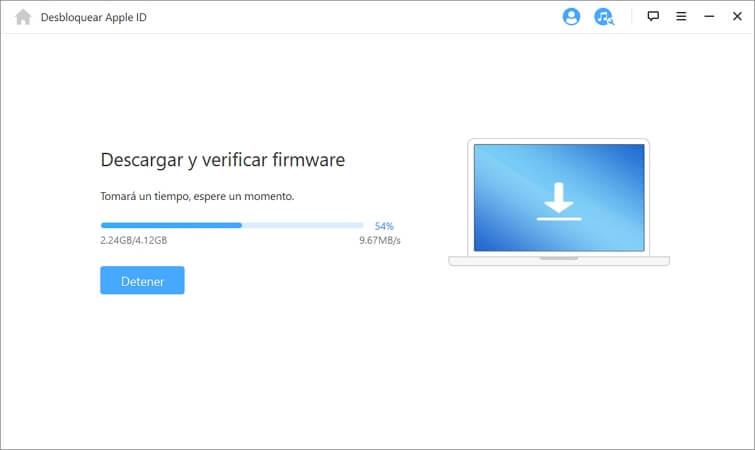 verificar descarga de firmware
