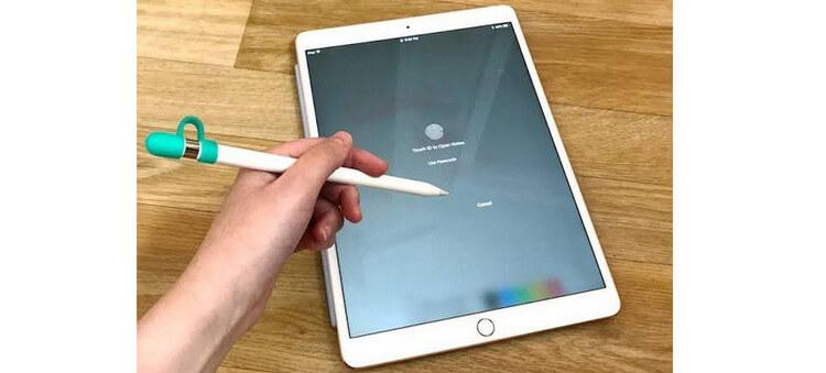 acceder iPad con el lápiz de Apple