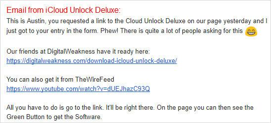 email icloud unlock deluxe